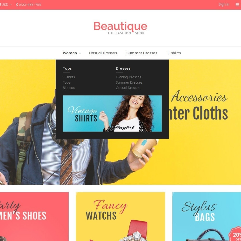 theme - Moda y Calzado - Beautique Fashion Store - 9
