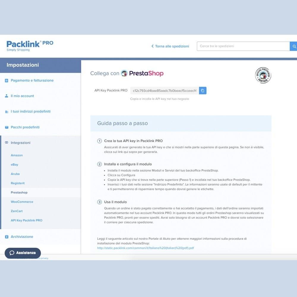module - Spese di Spedizione - Spedizioni Packlink PRO - 2