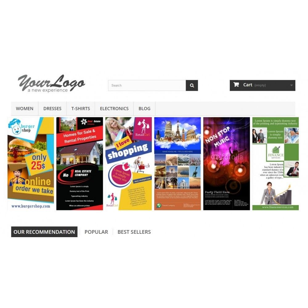 module - Bloques, Pestañas y Banners - Responsive Banners - 1