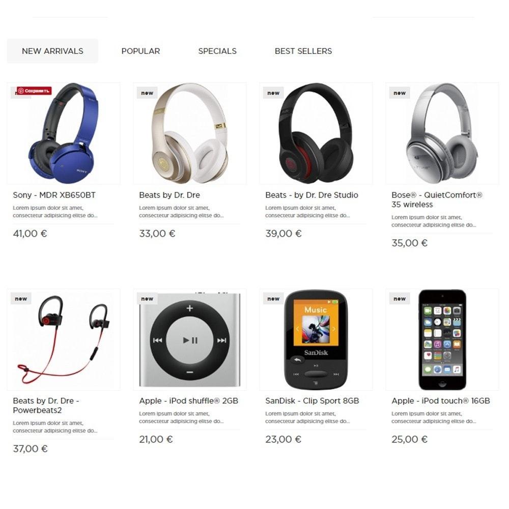 theme - Elektronik & High Tech - Electrobuzz High-tech Shop - 3