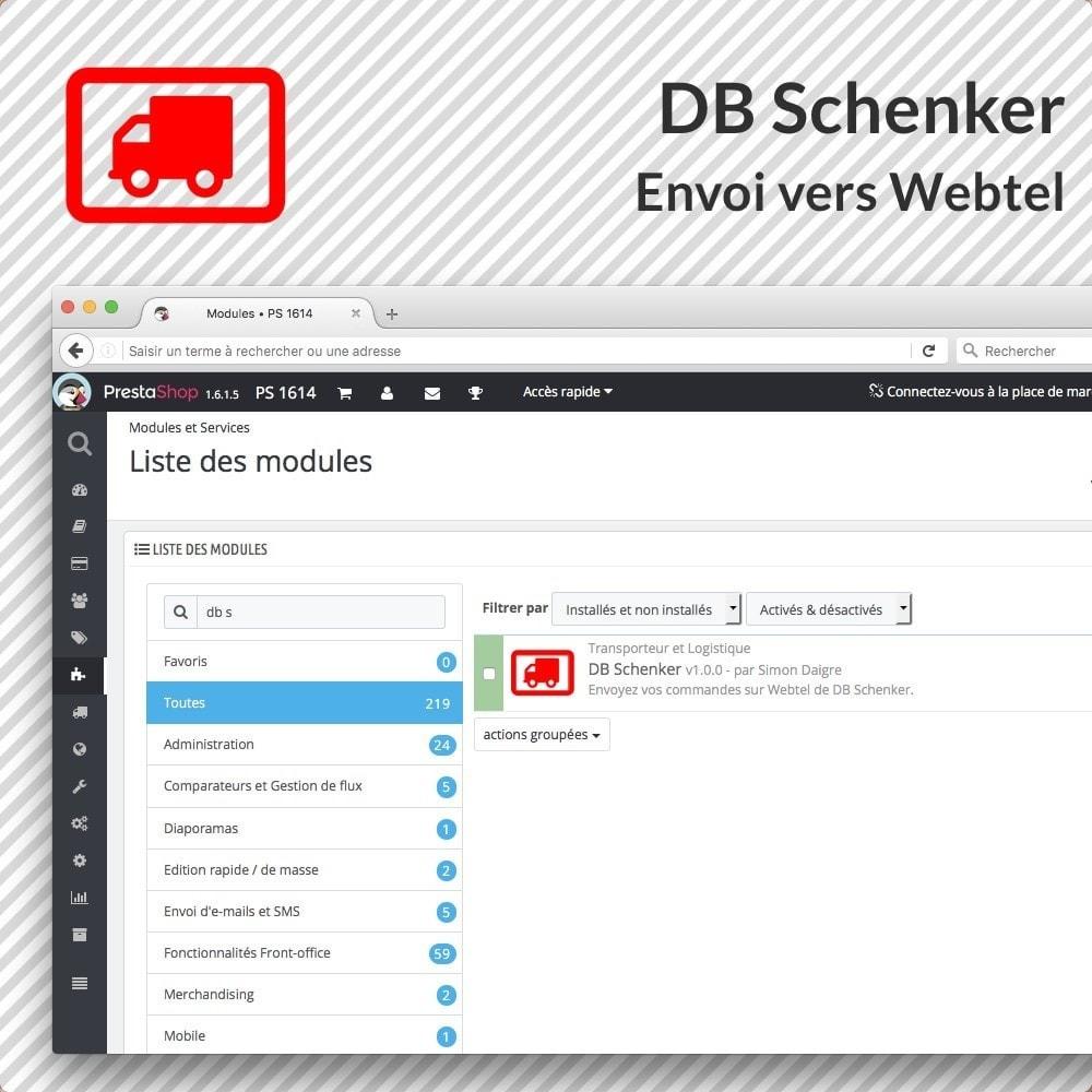 module - Voorbereiding & Verzending - DB Schenker - 1