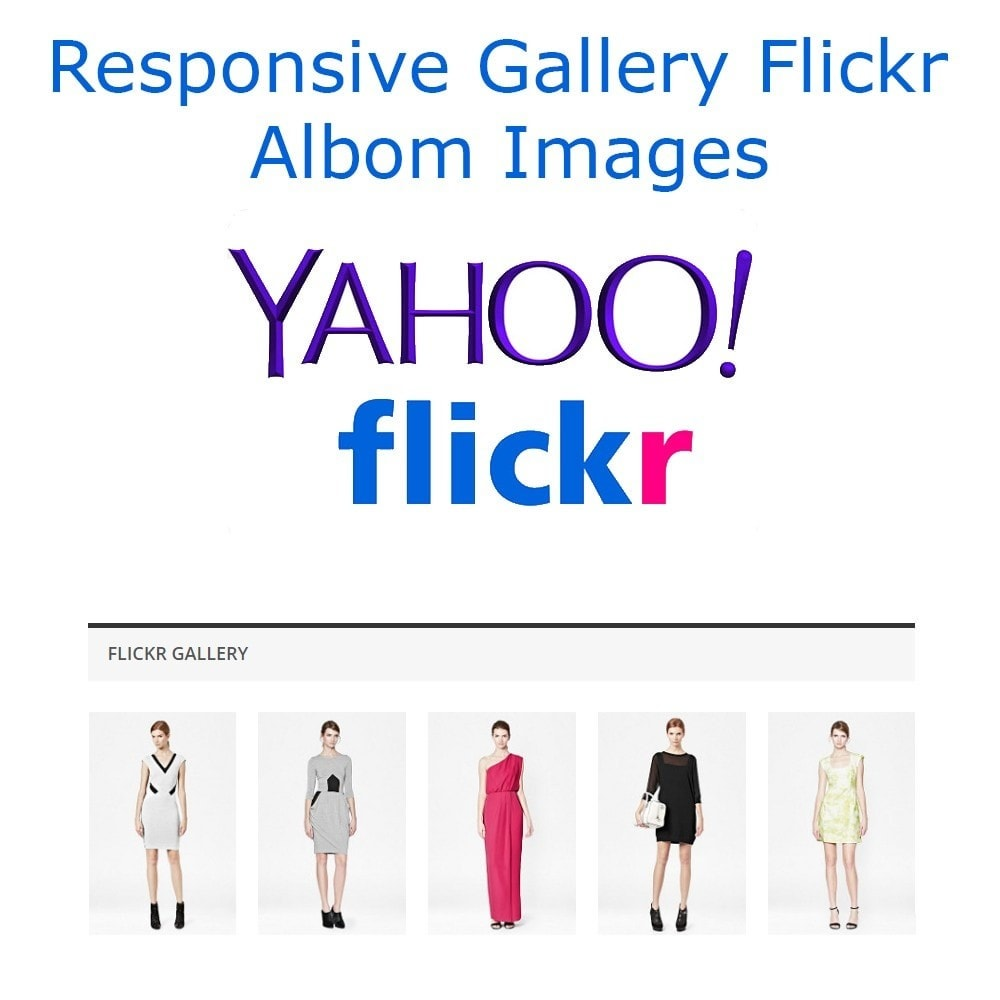 module - Sliders & Galleries - Responsive Gallery Flickr Albom Images - 1