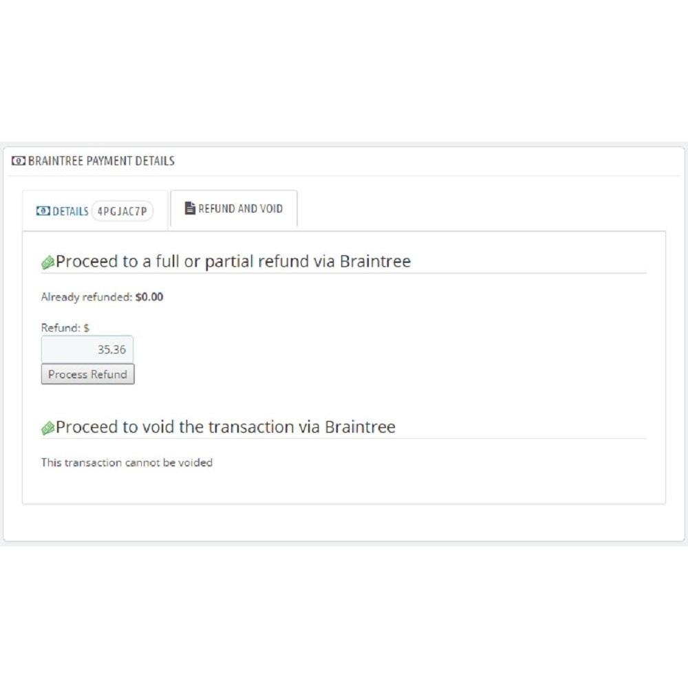 module - Paiement par Carte ou Wallet - Braintree - 10