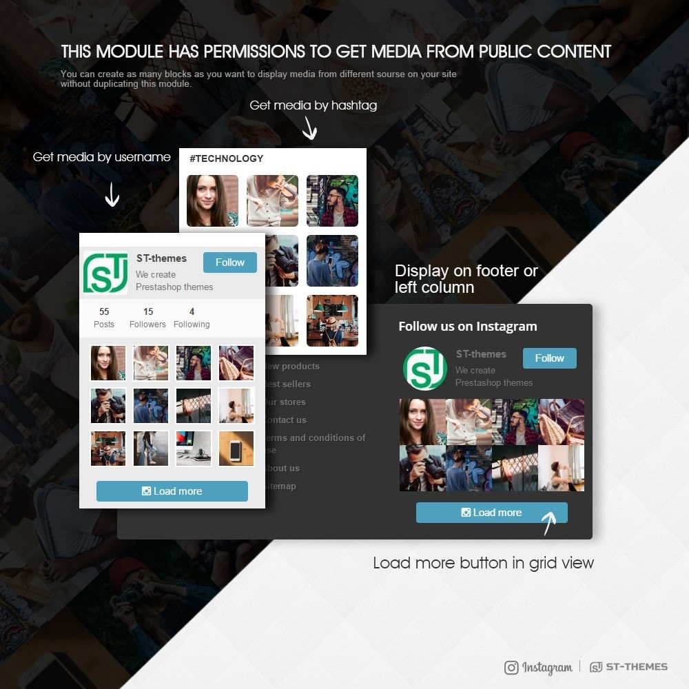 module - Social Widget - Advanced social feed - 2