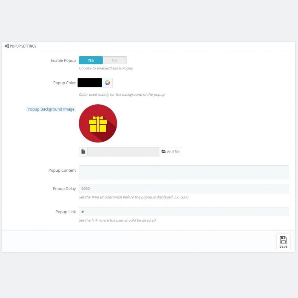 module - Individuelle Seitengestaltung - Christmas Mode - Shop design customizer - 4