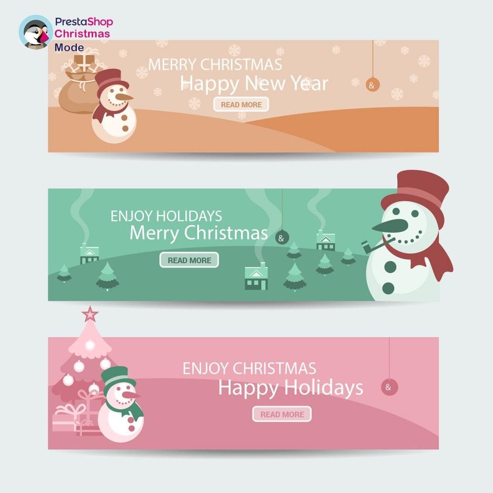 module - Individuelle Seitengestaltung - Christmas Mode - Shop design customizer - 10