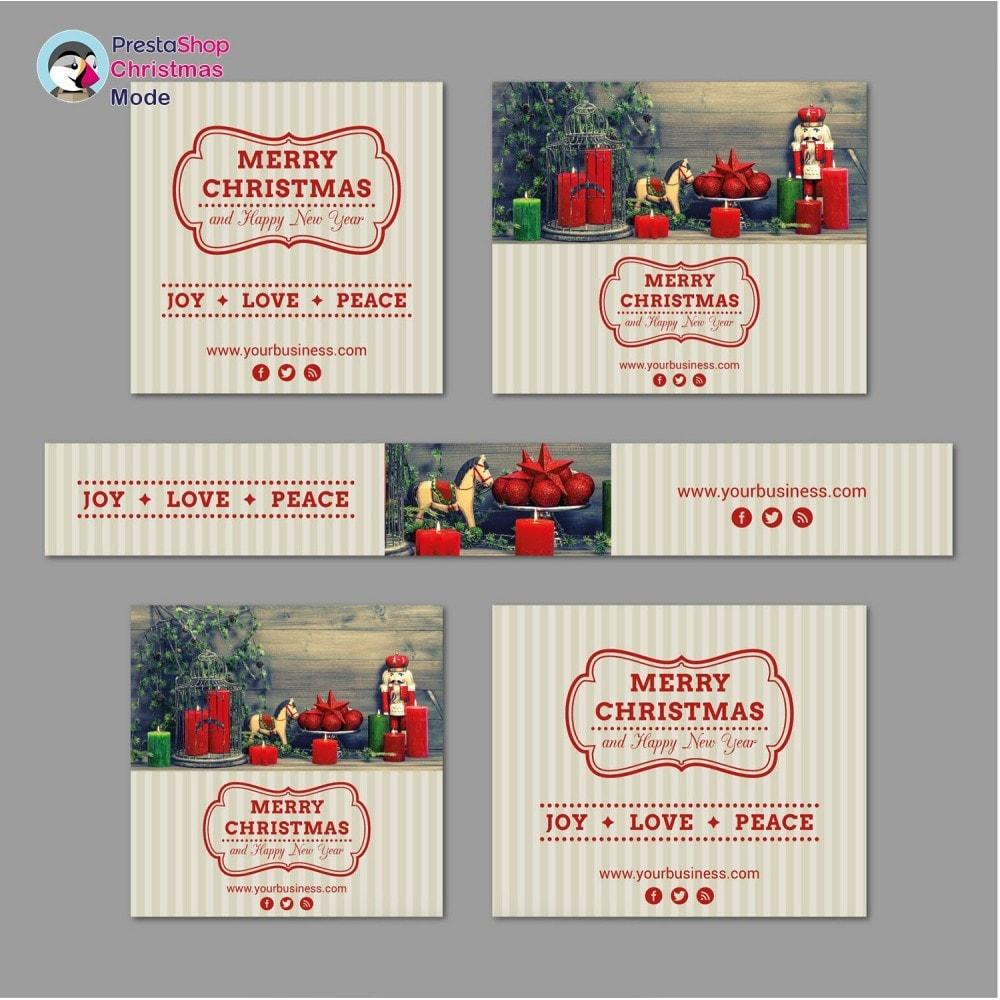 module - Individuelle Seitengestaltung - Christmas Mode - Shop design customizer - 11