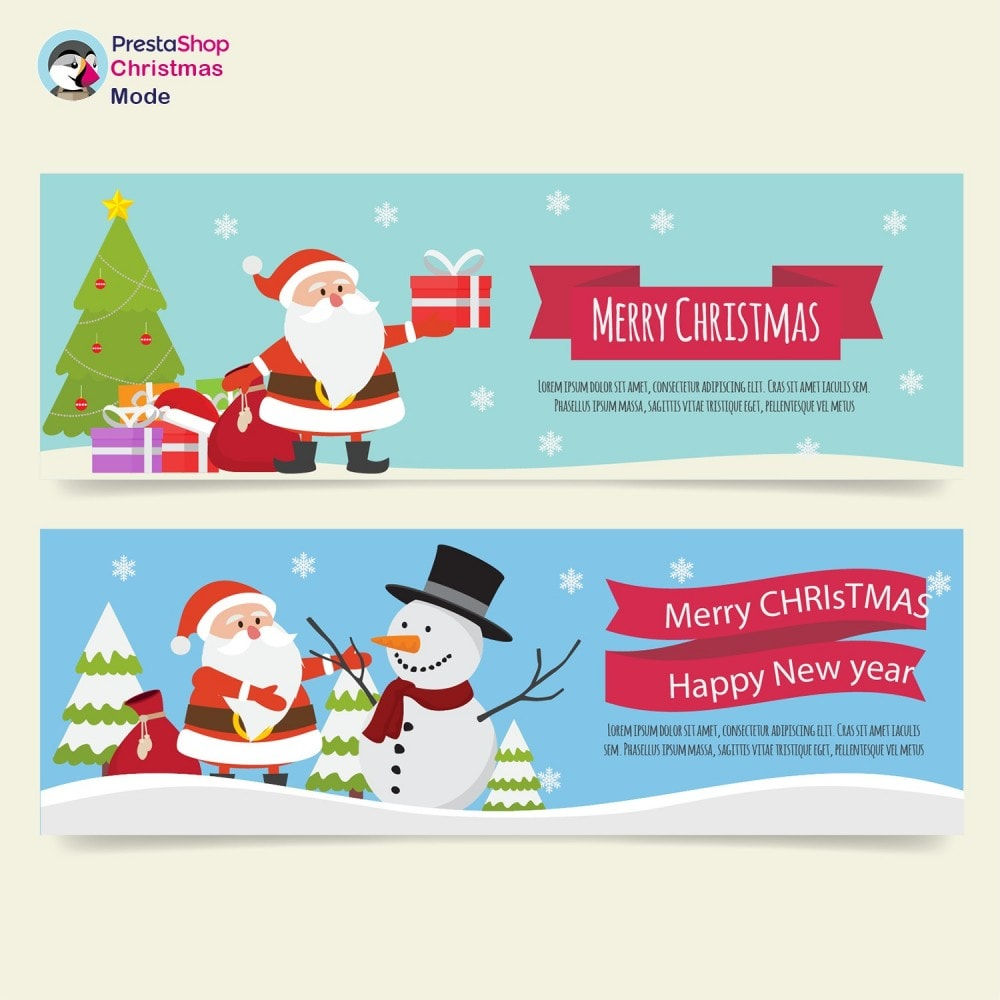 module - Page Customization - Christmas Mode - Shop design customizer - 15