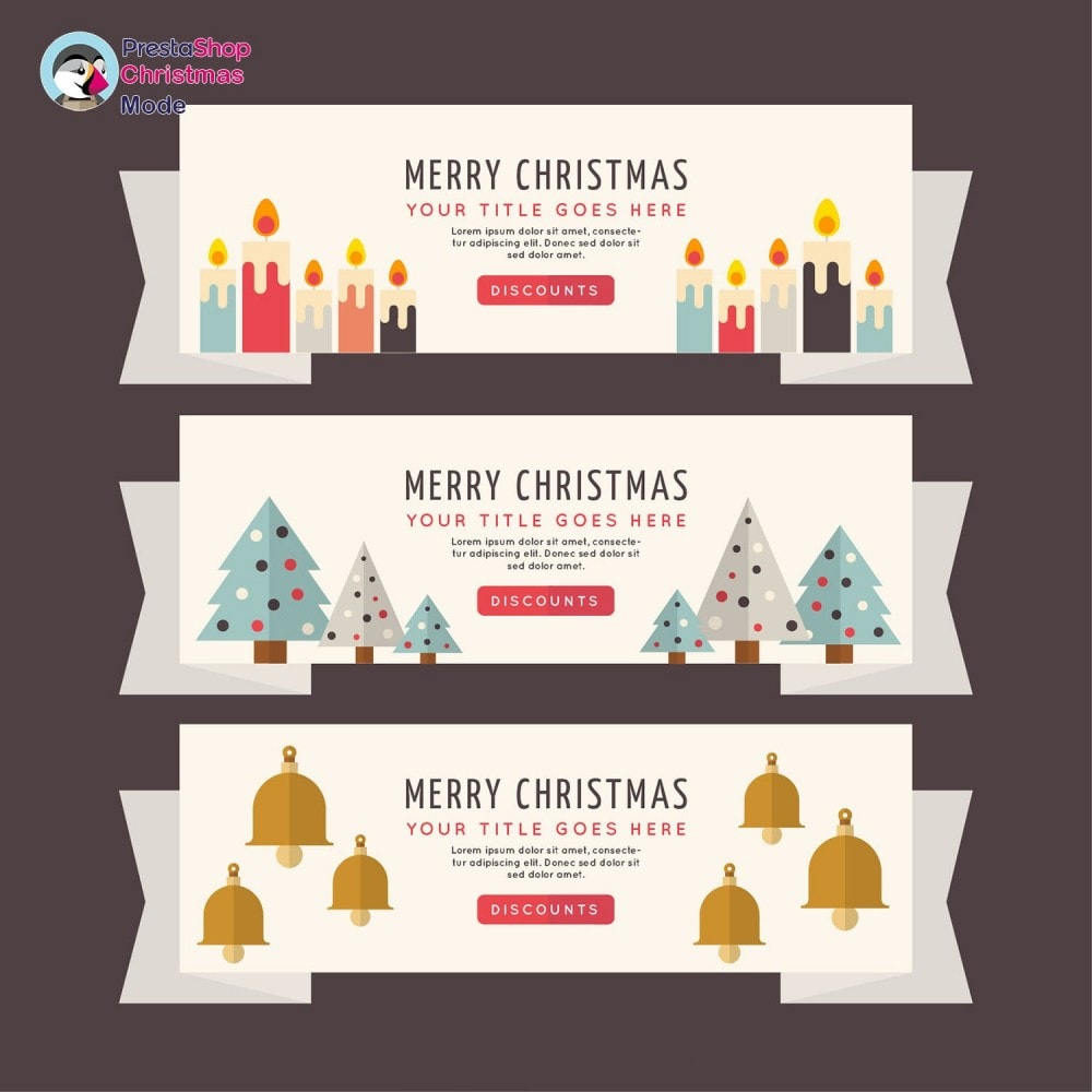 module - Personalizzazione pagine - Christmas Mode - Shop design customizer - 16
