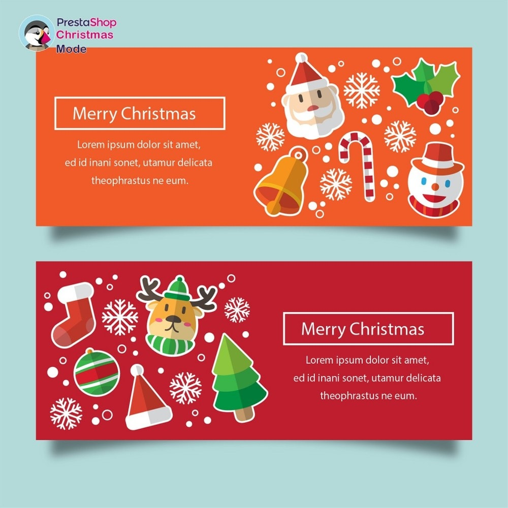 module - Personalizzazione pagine - Christmas Mode - Shop design customizer - 17