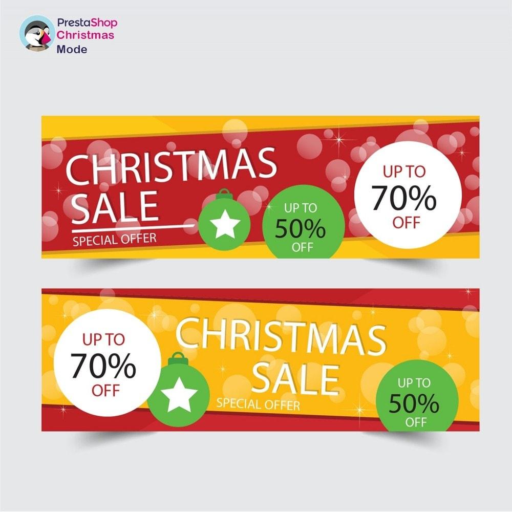 module - Individuelle Seitengestaltung - Christmas Mode - Shop design customizer - 22