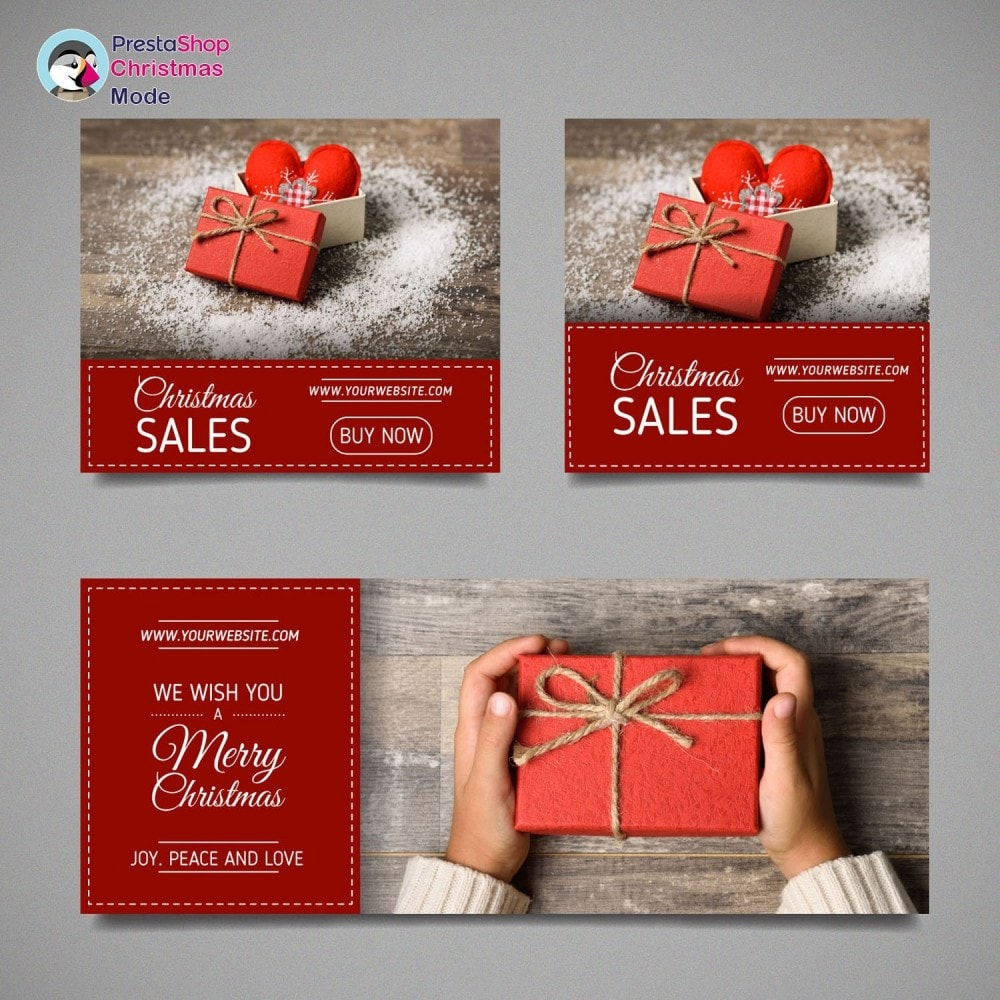 module - Personalisering van pagina's - Christmas Mode - Shop design customizer - 28