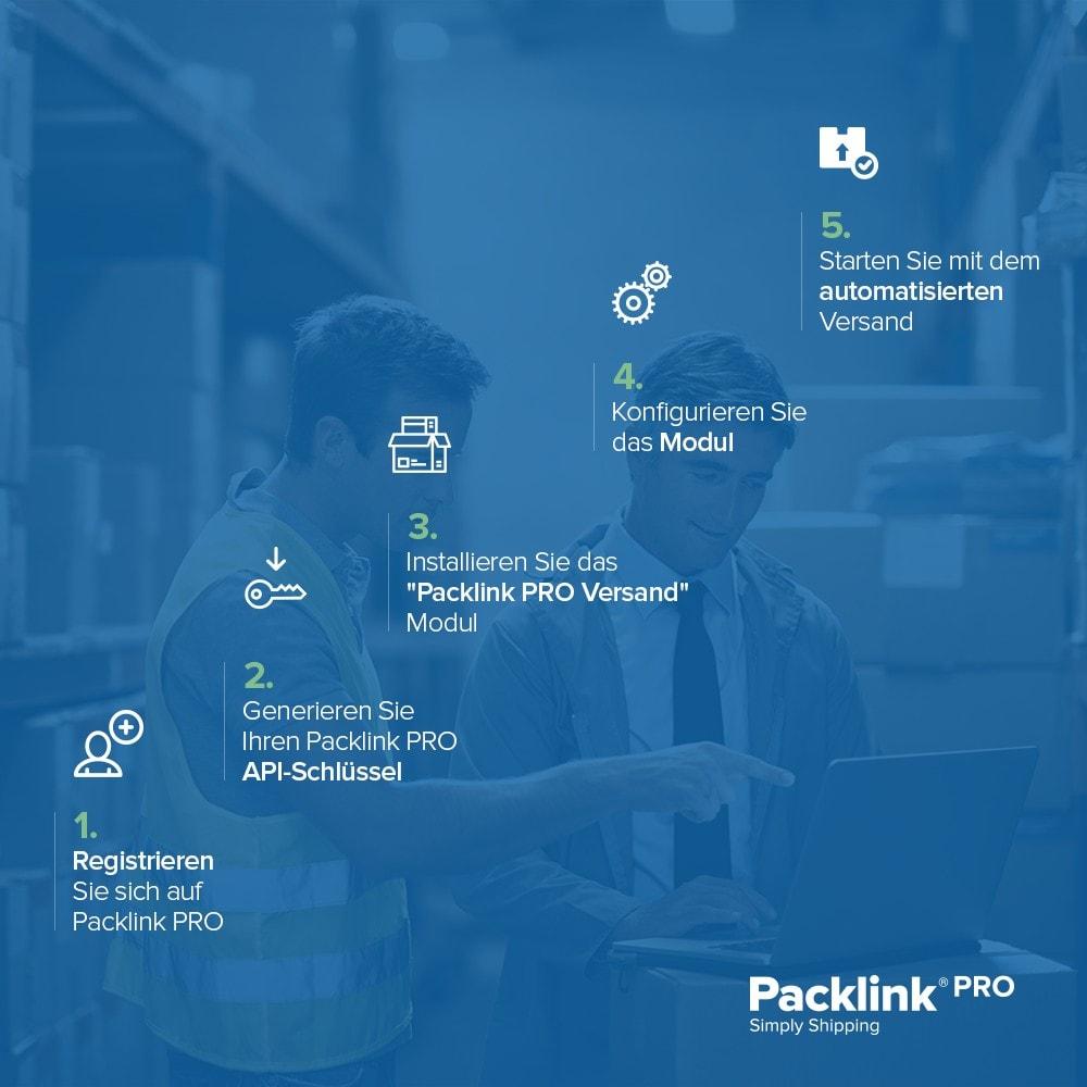 module - Versandkosten - Versandplattform Packlink PRO - 4