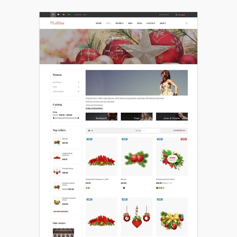 theme - Geschenke, Blumen & Feiern - Leo Mistletoe - 2