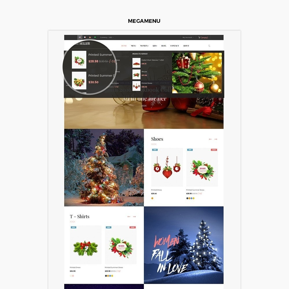 theme - Geschenke, Blumen & Feiern - Leo Mistletoe - 4