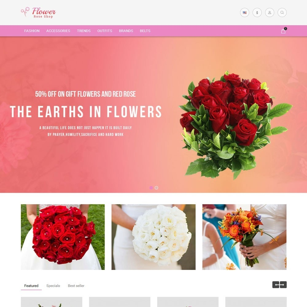 theme - Gifts, Flowers & Celebrations - Flower Store - 2