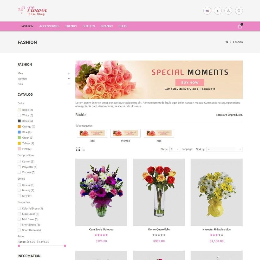 theme - Cadeaux, Fleurs et Fêtes - Flower Store - 3