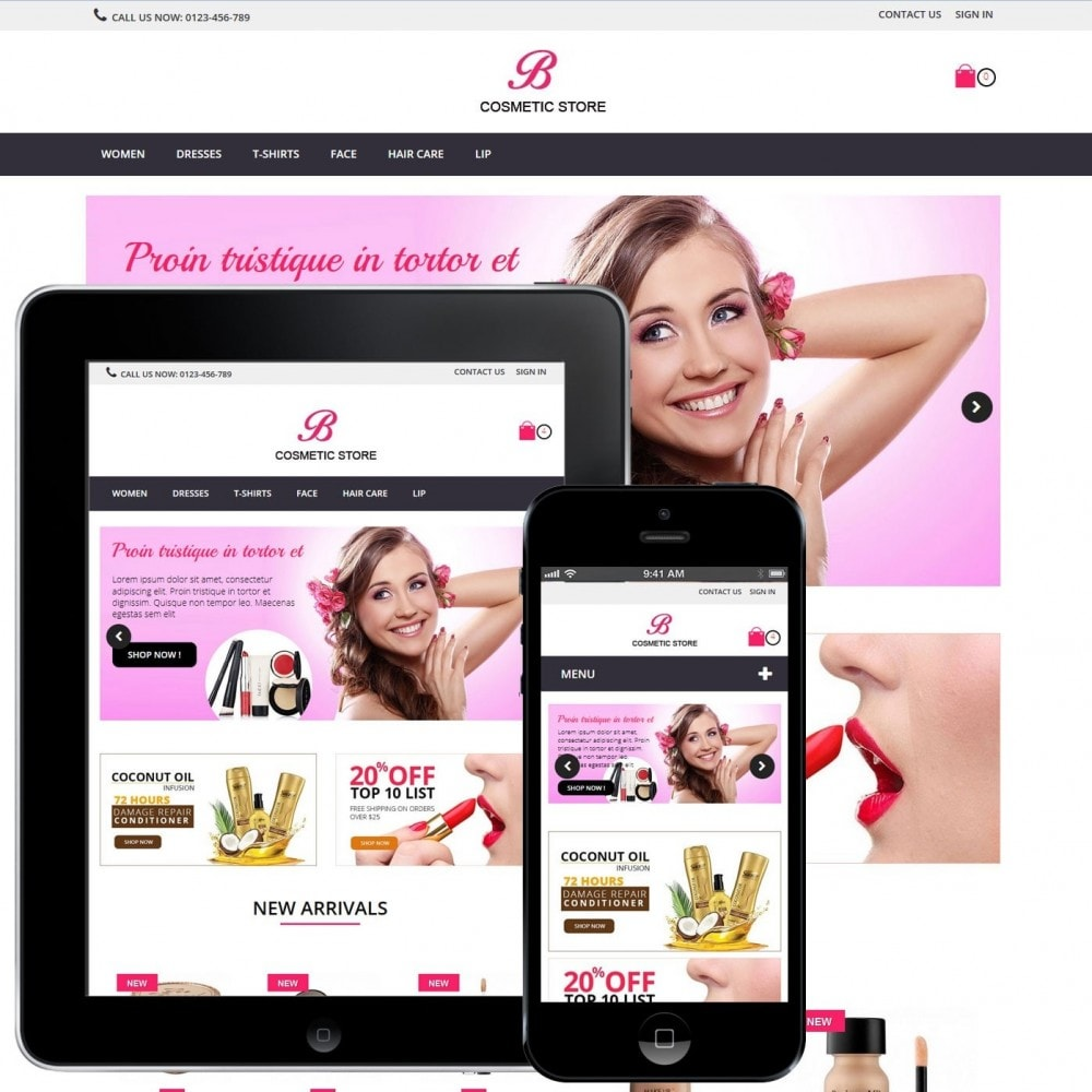 theme - Salute & Bellezza - beauty cosmetics - 2