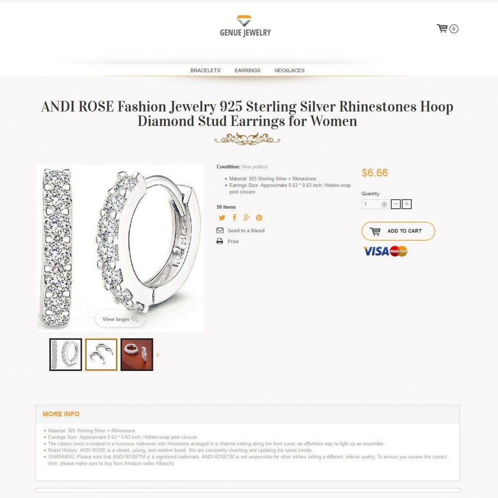 theme - Sieraden & Accessoires - genue jewelry - 2