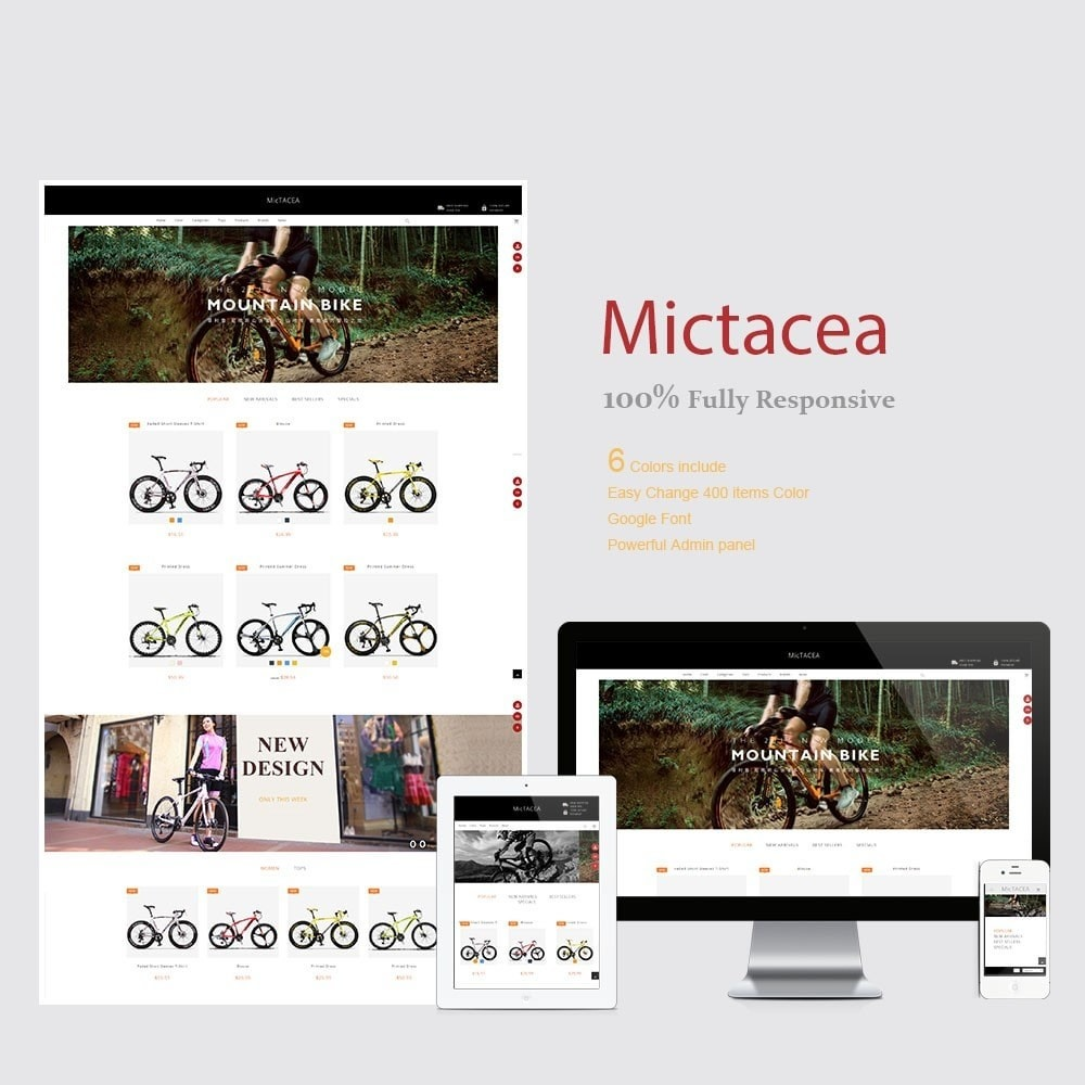 theme - Sport, Loisirs & Voyage - Mictacea Mountain Bike Store - 1