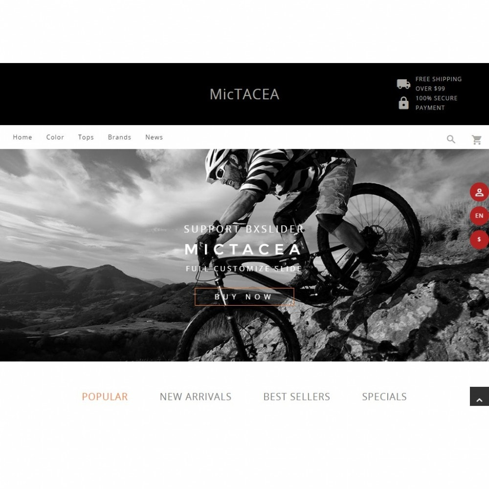theme - Sport, Loisirs & Voyage - Mictacea Mountain Bike Store - 6