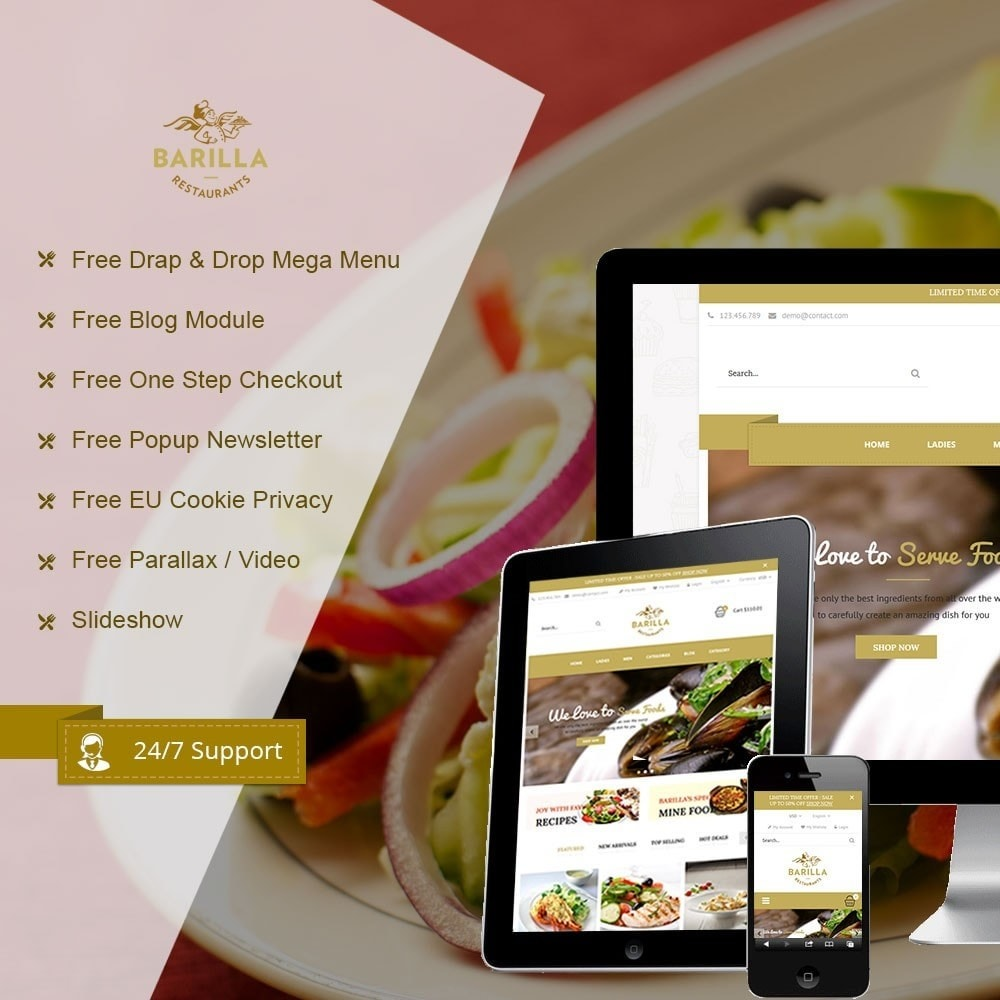 theme - Eten & Restaurant - Barilla Food Store - 2