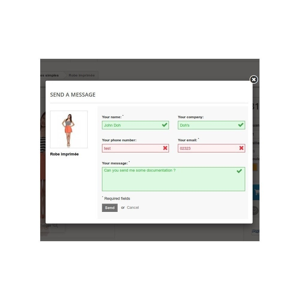 module - Form di contatto & Questionari - ContactBox: Customizable Contact Form for products - 5