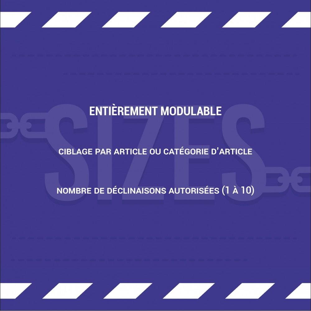 module - Déclinaisons & Personnalisation de produits - Limiter la quantité d'un produit par panier - 2