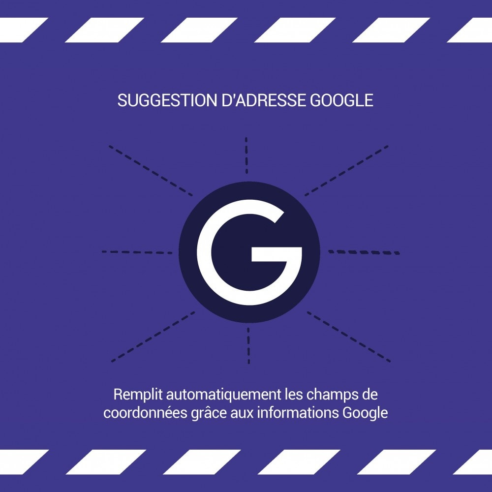module - Inscription & Processus de commande - Suggestion d'adresse (par Google) - 1