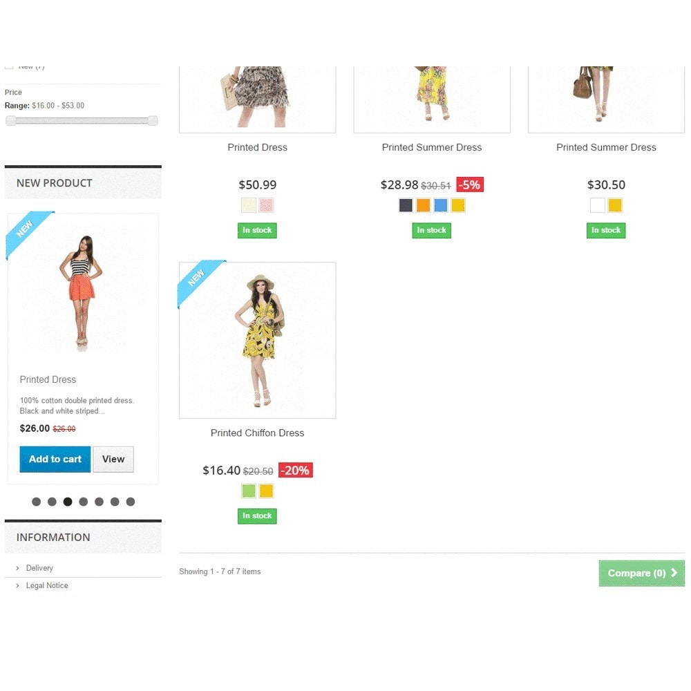 module - Silder & Gallerien - Responsive Carousel with New Products - 3