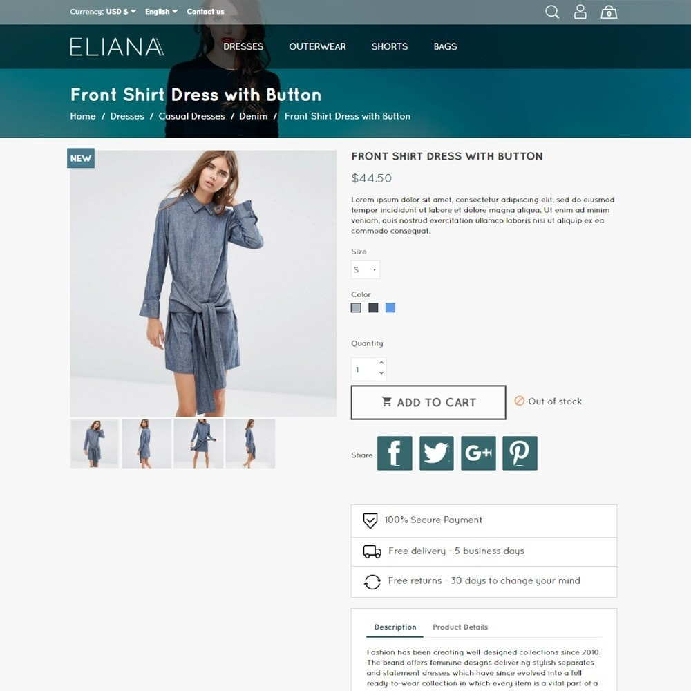 theme - Mode & Schoenen - Eliana Fashion Store - 5