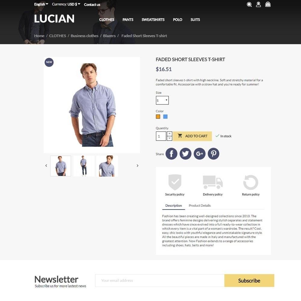 theme - Moda & Obuwie - Lucian Men's Wear - 5