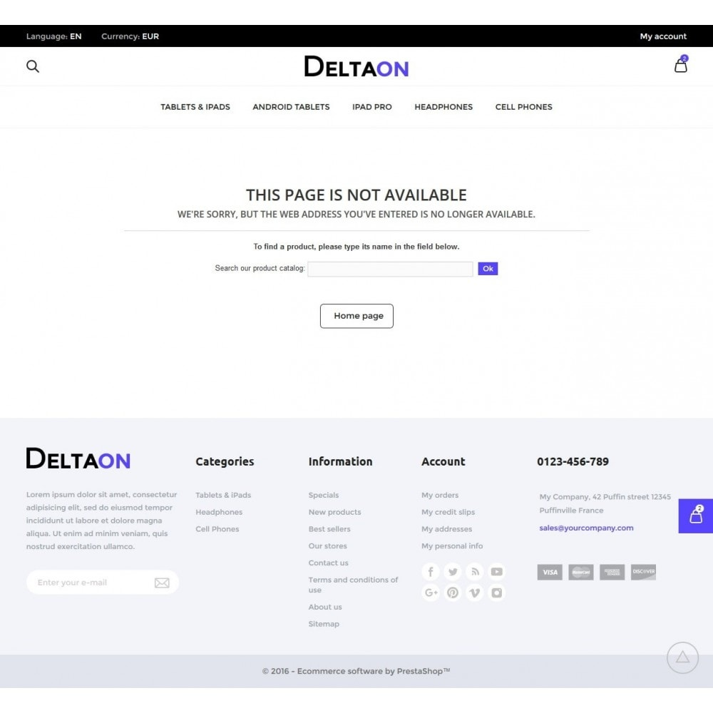 theme - Electronique & High Tech - DeltaON Store - 10