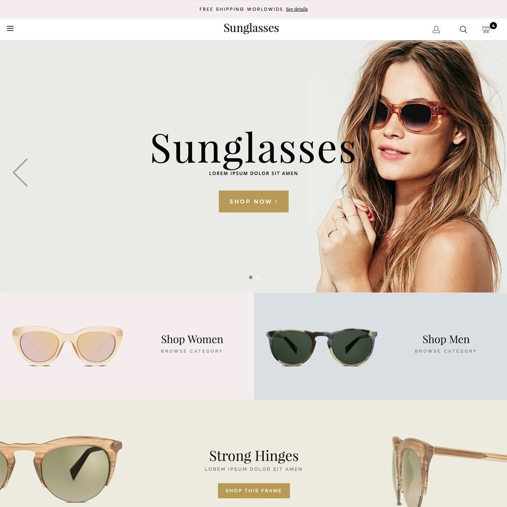 theme - Fashion & Shoes - Sunglasses - 1