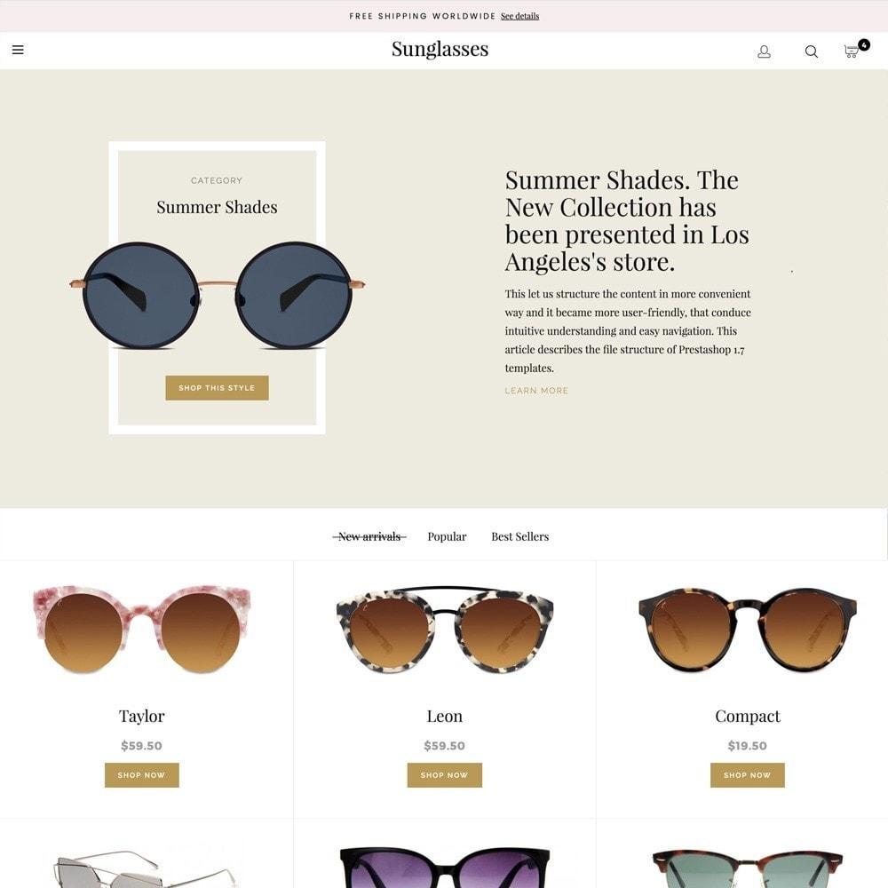 theme - Fashion & Shoes - Sunglasses - 2
