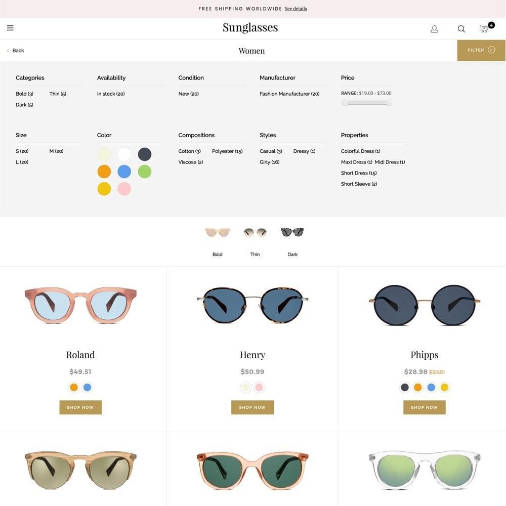 theme - Fashion & Shoes - Sunglasses - 7