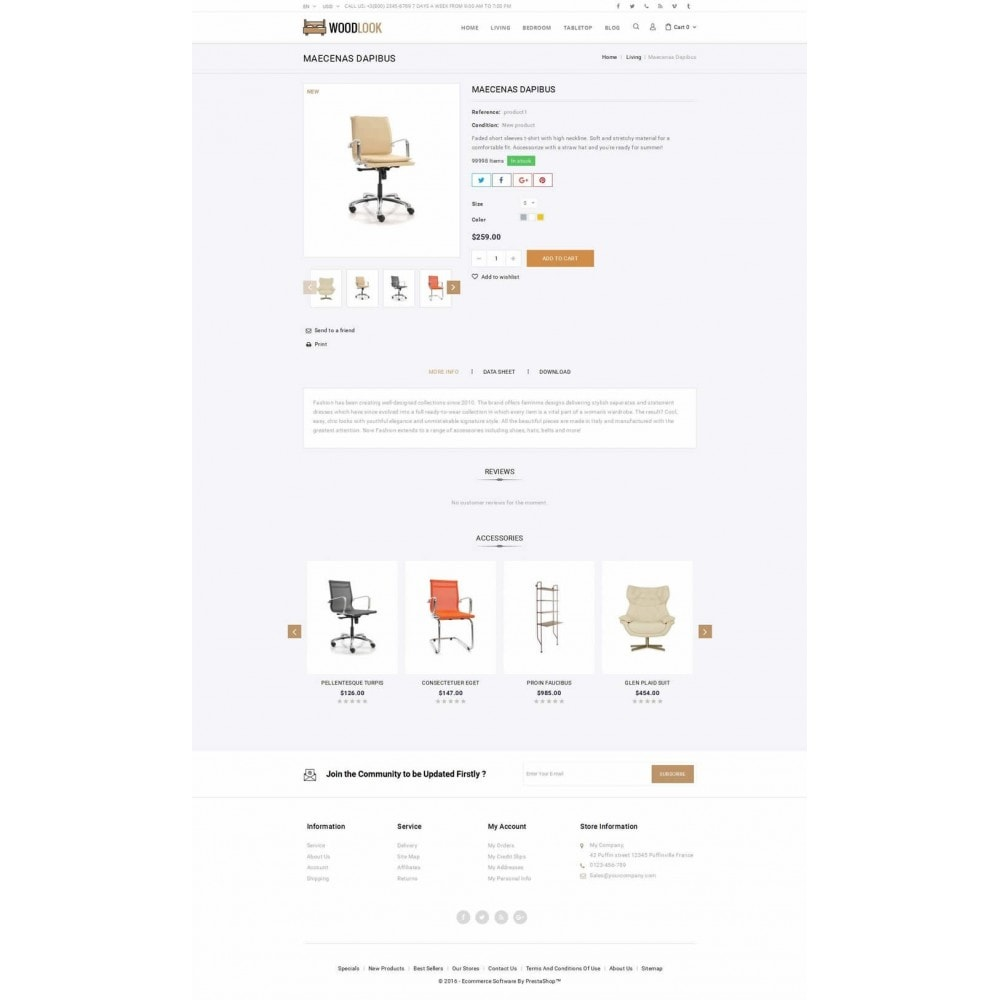 theme - Home & Garden - Woodlook Online Furniture Store - 5
