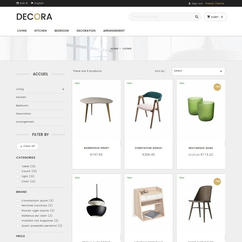 theme - Home & Garden - Decora - 2
