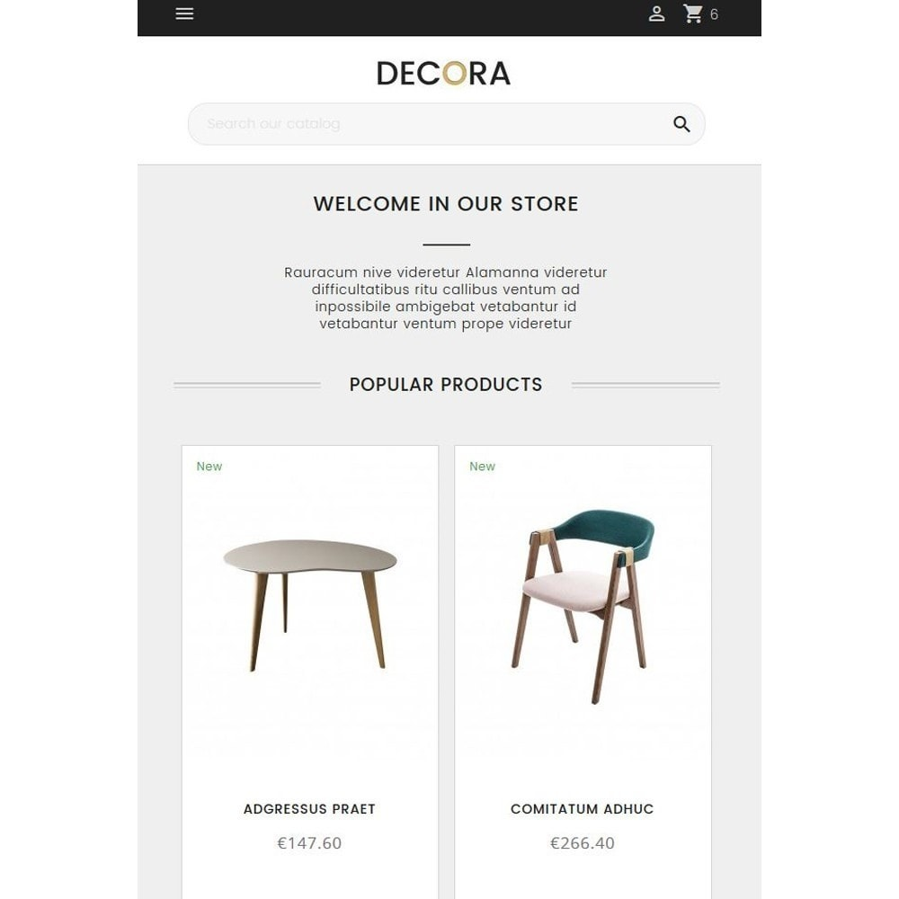 theme - Home & Garden - Decora - 10