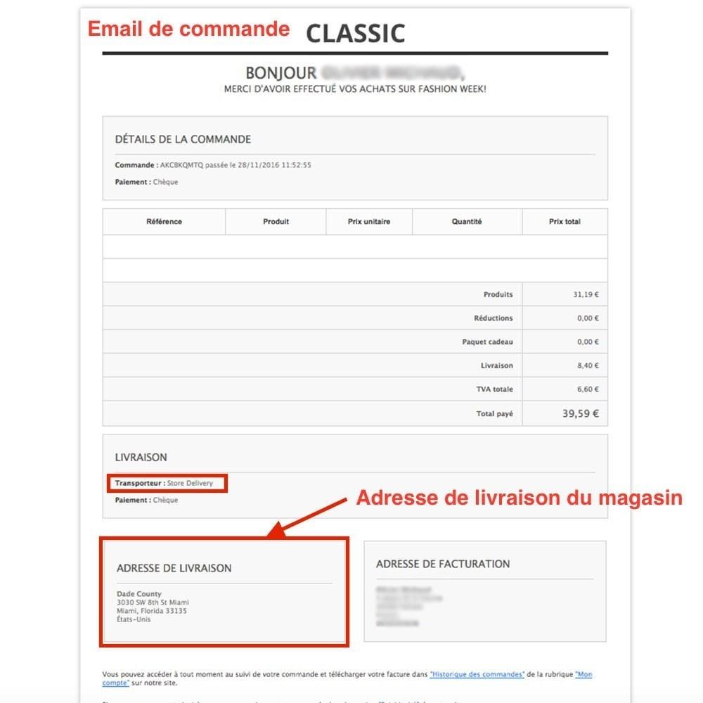 module - Point Relais & Retrait en Magasin - Livraison en magasin / Point de retrait - 3