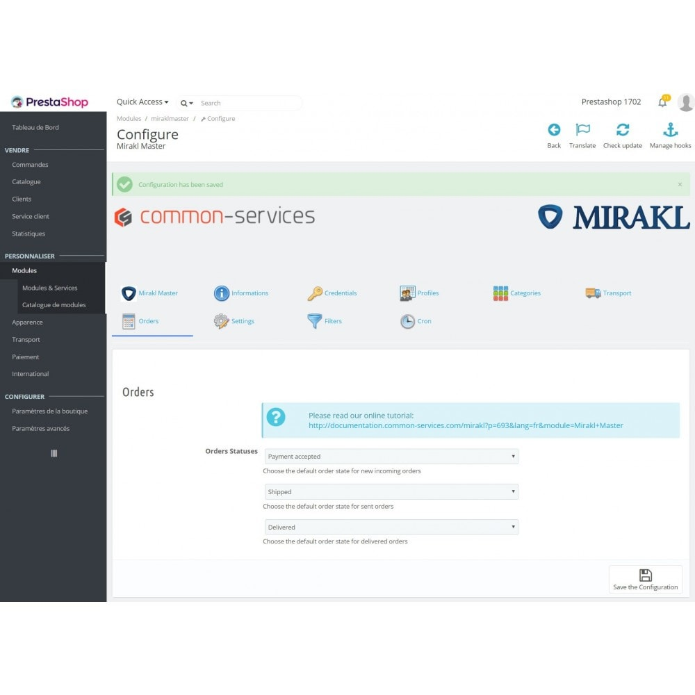 module - Traffic & Marktplaces - Mirakl - multi-marketplaces connector - 6