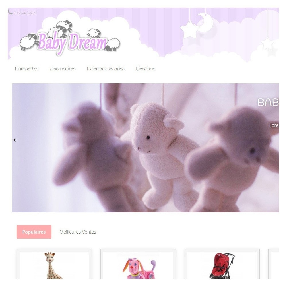 theme - Kids & Toys - Baby Dream - 2