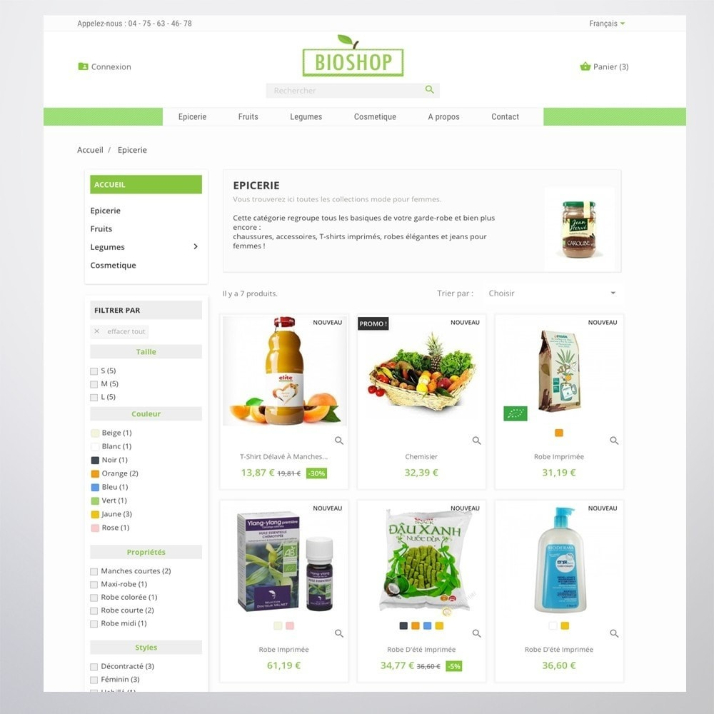 theme - Health & Beauty - Bioshop - 3