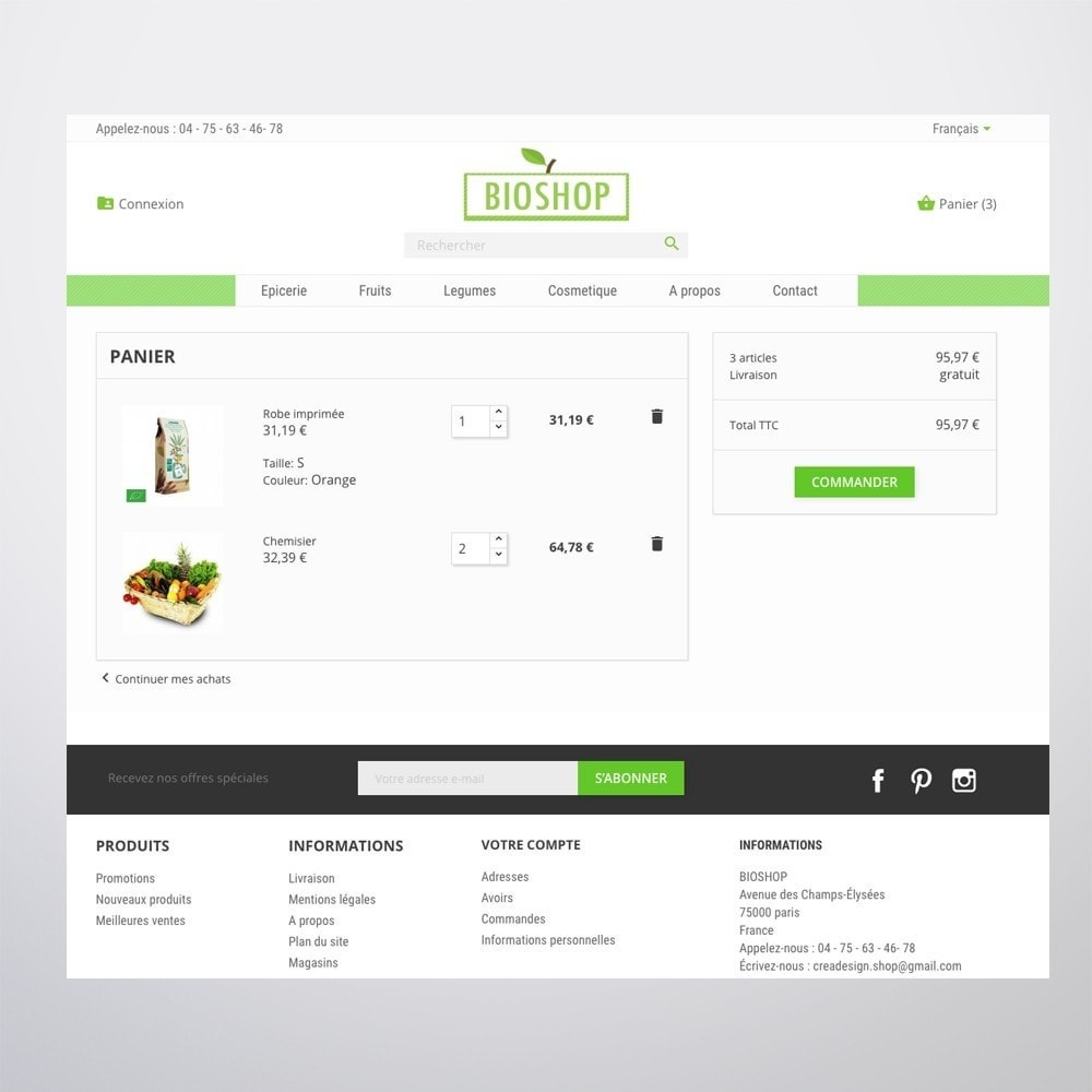 theme - Health & Beauty - Bioshop - 5