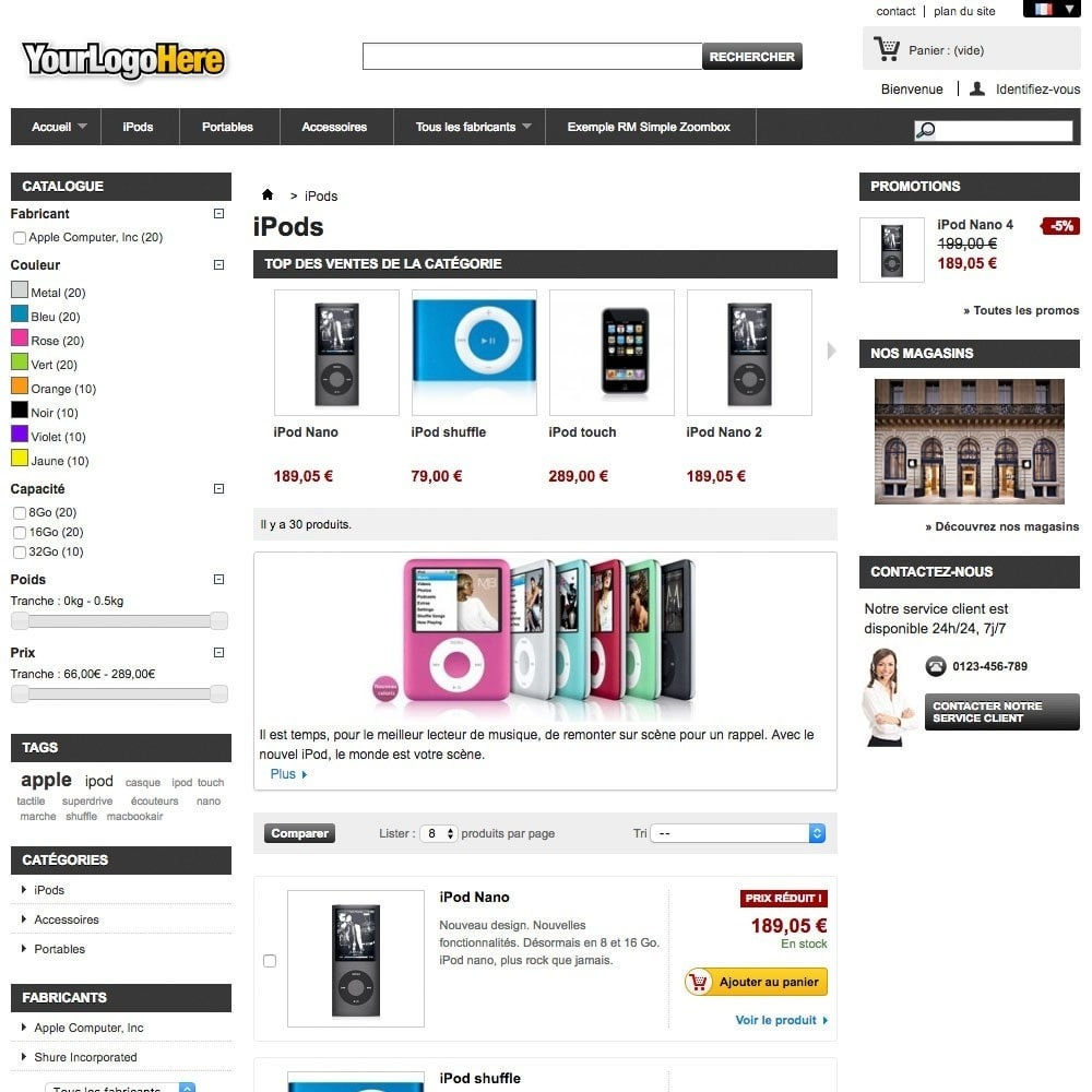 module - Products on Homepage - RM Bestsellers by Category - 2