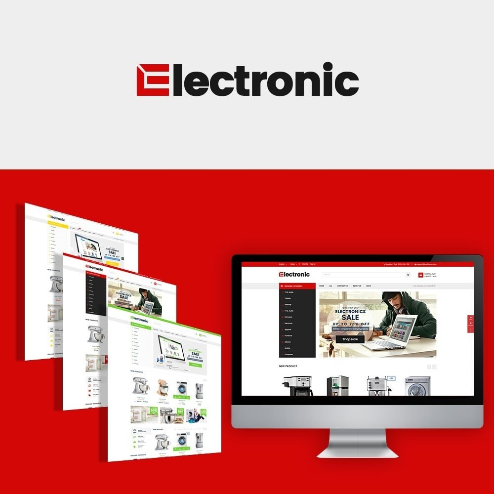 theme - Elektronika & High Tech - Electronics Store - 1