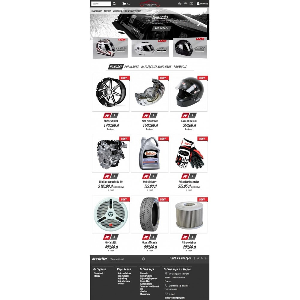 theme - Samochody - Motoryzacyjne Części - 6
