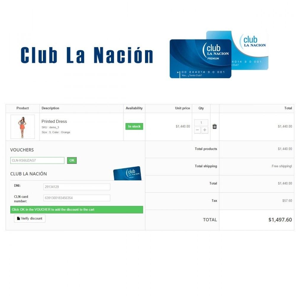 module - Programa de Fidelidad - Club La Nación - 1