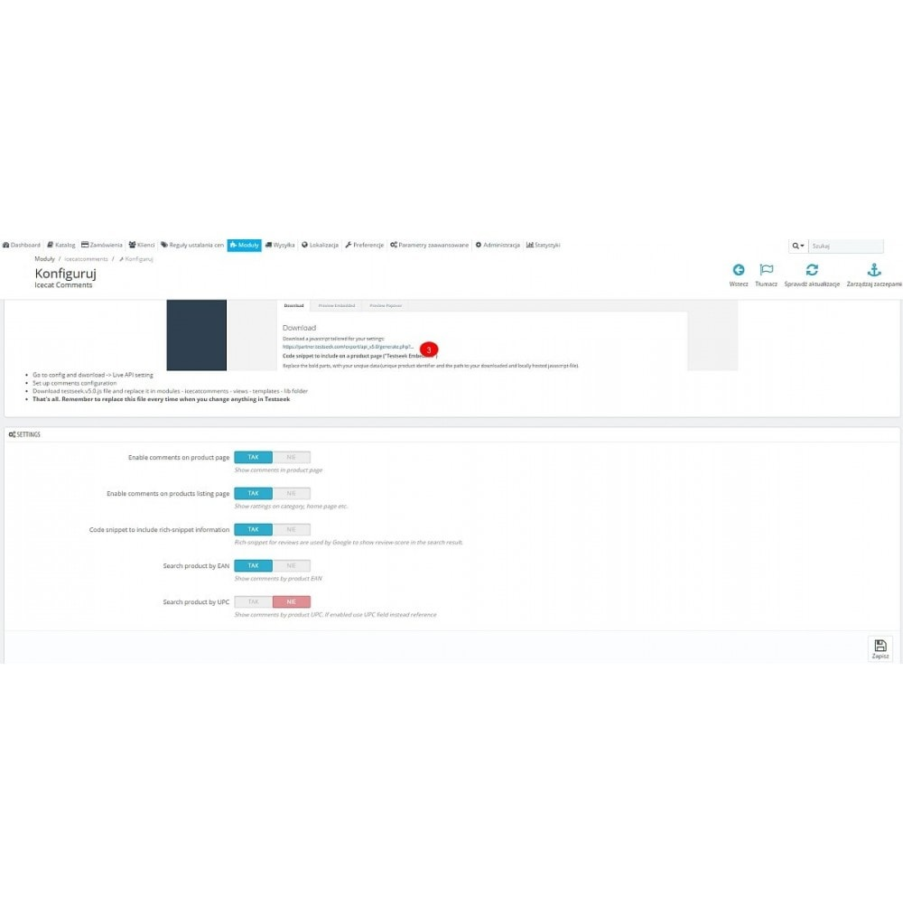 module - Kundenbewertungen - Testseek reviews - 1