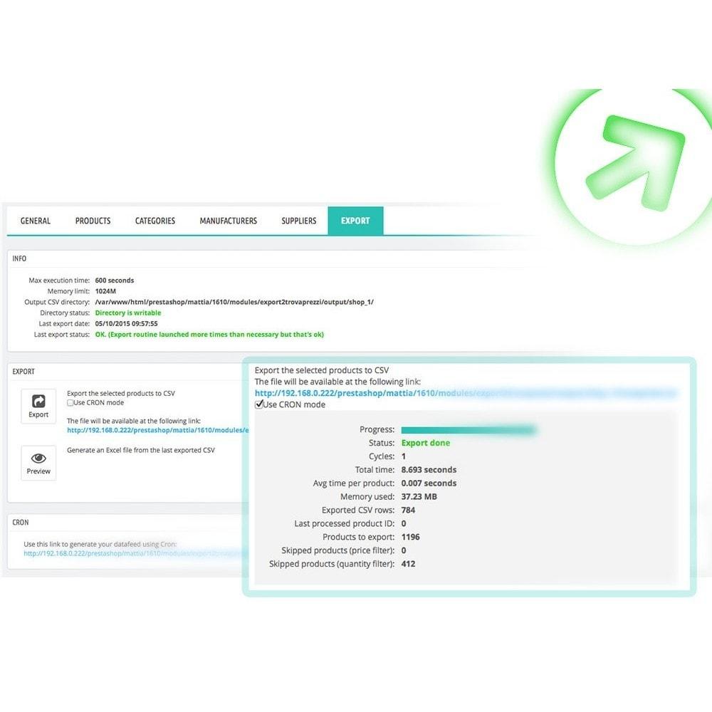 module - Preisvergleiche - Bizrate - Export + Erweiterte Filter - 6